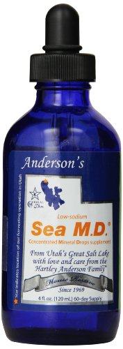 Andersons Concentrated Mineral Drops, 4 Ounce