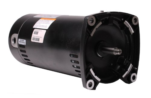 A.O. Smith USQ1152 1-1/2 HP, 1.1 Service Factor, 48Y Frame, Capacitor Start/Capacitor Run, ODP Enclosure, Square Flange Pool Motor from Century Electric/AO Smith Motors Co
