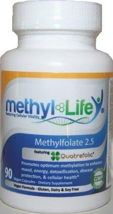 L-Methylfolate 2.5 - L-5-Mthf As Quatrefolic® (1,400 Mcg Per Capsule) - [90 Capsules]