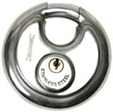 70MM DISC PADLOCK - Disc Stainless Steel Padlock (Security)
