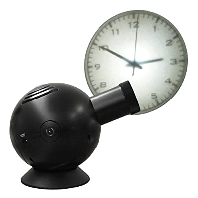 Projection Clock プロジェクションクロック [アナログ/ブラック]