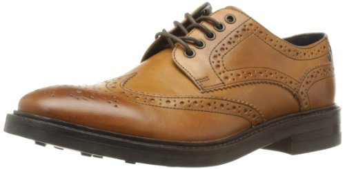 Base London  Woburn,  Scarpe stringate uomo, Marrone (Marron (Tan Waxy)), 42