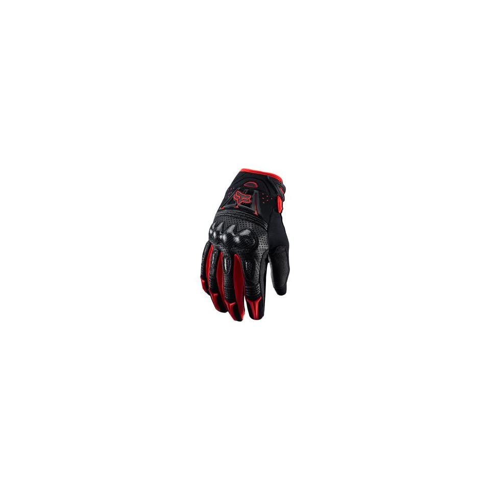 Fox Racing Bomber Gloves Red 2012