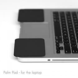 GRIFITI Palm Pads are Apple MacBook Wrist Rests and Notebook, Netbook, and Laptop Wrist Pads Made with Silicone to Easily Reposition and Remove while Travelling
