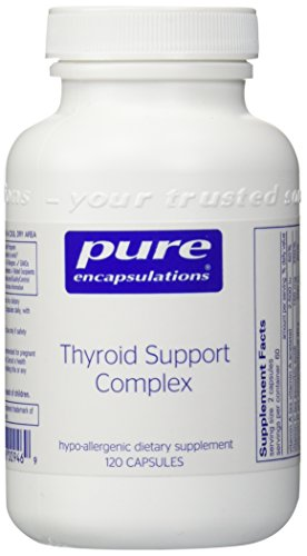 Pure Encapsulations Thyroid Support Complex 120s