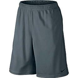 Nike Men's Polyester Shorts (888407880094_646152-064_Small_Grey)