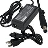 65W AC Power Adapter/Battery Charger for HP Pavilion DV4t-1000 DV4t-1600 G4-1104DX dm4-1162US dm4-1165DX dm4-2015DX dv3-2150US dv4-1155SE dv4-1313DX dv4-1525LA dv4-1540US dv6-2057CL dv7-4065DX