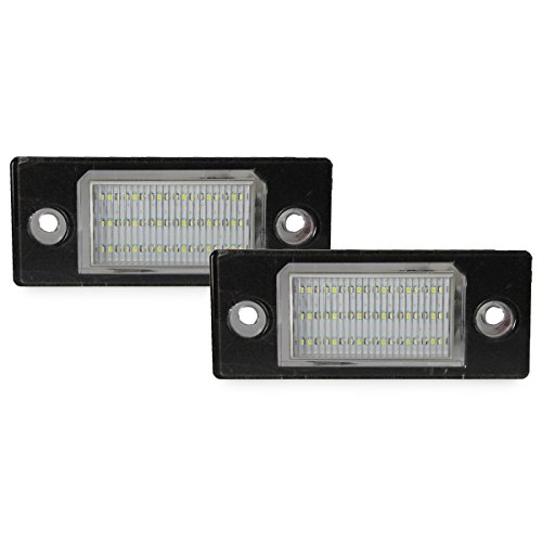 Dectane LPLVA08 - Pannello luci targa LED per VW Touareg, Tiguan, Golf V, Passat