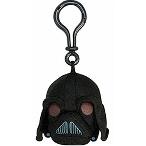 Angry Birds Star Wars Plush Backpack Clip - Darth Vader - 1