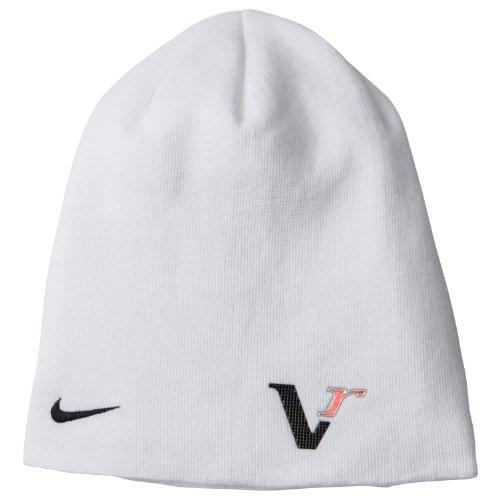 825186540f1 NEW Nike Tour Knit 20XI Vr WHITE Winter Beanie Toboggan Hat Cap