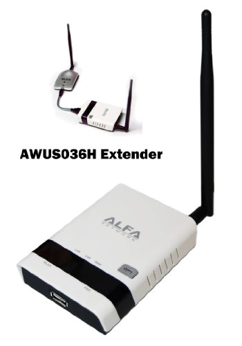 Alfa R36 802.11 B, G N, Repeater And Range Extender For Awus036H - AWUS036H is Not Included