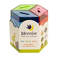 Moonjar Classic Moneybox: Save, Spend…
