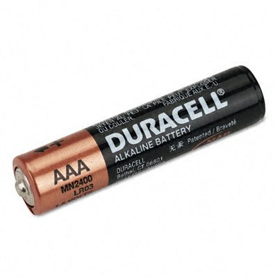 Duracell 01548 - AAA Cell Doublewide Battery 20 Pack (MN2400B20)