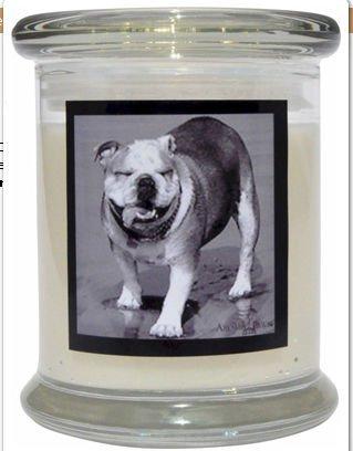 Aroma Paws 317 Breed Candle 12 Oz. Jar - Bulldog