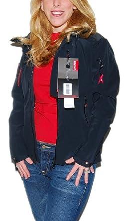 Buy Polo Ralph Lauren RLX Ladies Waterproof Nylon Ski Jacket Black Red XS by RALPH LAUREN