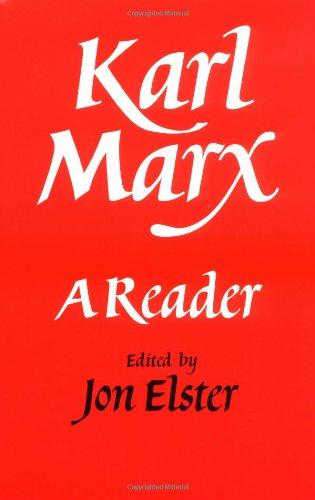 Karl Marx Paperback: A Reader