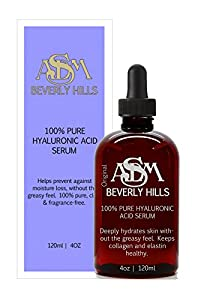 100 Pure Hyaluronic Acid Serum 4oz