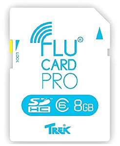Flucard FLUCARDPRO8GBCL6 Pro Class 6 SDHC 8GB Speicherkarte