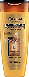 LOreal Paris 6 Oil Nourish Shampoo Scalp and Hair , 175ml