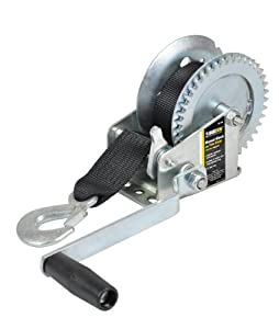 Maxxtow Towing Products 70176 Hand Winch with 25' Polyester Strap - 1000 lbs. Capacity by Maxxtow Towing Products