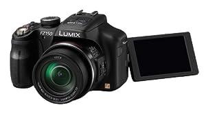 Panasonic Lumix DMC-FZ150EGK Digitalkamera (12 Megapixel, 24-fach opt. Zoom, 7,5 cm (3 Zoll) Display, bildstabilisiert, Full-HD Video) schwarz