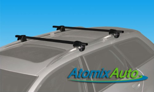 2007-2011 Ford Escape Roof Rack Crossbars With Locks (2008 Ford Escape Roof Rack compare prices)