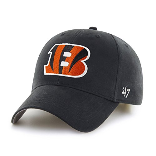 NFL Cincinnati Bengals Basic MVP Adjustable Hat, Toddler, Black (Bengals Merchandise compare prices)