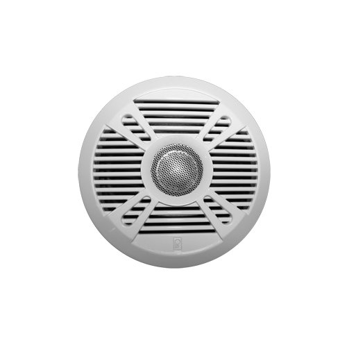 "The Amazing Quality Polyplanar Ma7050 5"" 2-Way Marine Speaker W/2 Grills - White & Graphite"