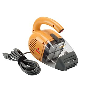 Cleanview Deluxe Corded Handheld Vacuum, 47R51 by BISSELL         Hand Vacuum Cleaners BISSELL hand vacuums are always on call for quick cleanups of everyday messes on floors and above floor surfaces. Plus, some even come with innovative pet-hair fe...