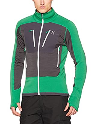 Haglöfs Forro Polar Mid Layer Stretch (Gris / Verde)