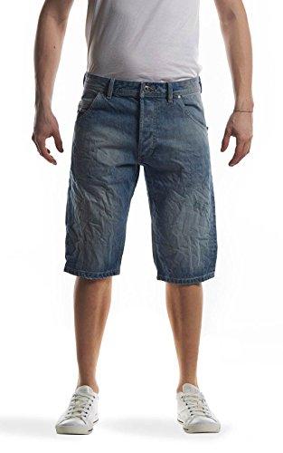 Diesel KROSHORT 0PALU 01 jeans shorts blu denim