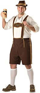 Bavarian Guy Costume - XX-Large - Chest Size 50-52
