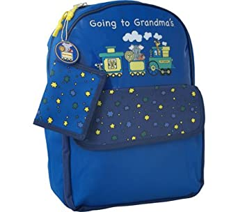 Going to Grandma's Children's Backpack Color: Blue