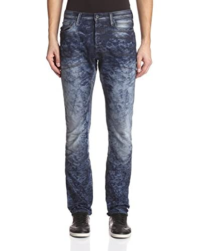 PRPS Goods & Co. Men's Demon Laser Print Slim Fit Jean
