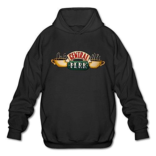 Custom Mens Logo Pullover Hoodie Central Perk Logo (Central Perk Jacket compare prices)