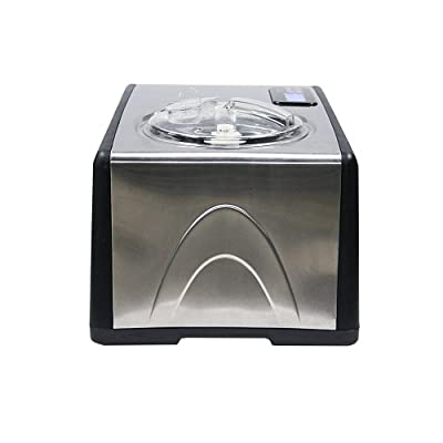 Whynter ICM-15LS Ice Cream Maker, Stainless Steel by Whynter