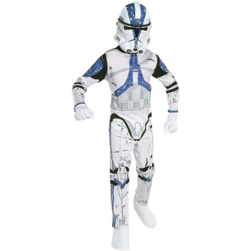 Clone Trooper Costume - X-Large - Chest Size 44-46