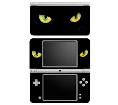 Cat Eyes Decorative Protector Skin Decal Sticker for Nintendo DSi XL Handheld Portable Video Game Console