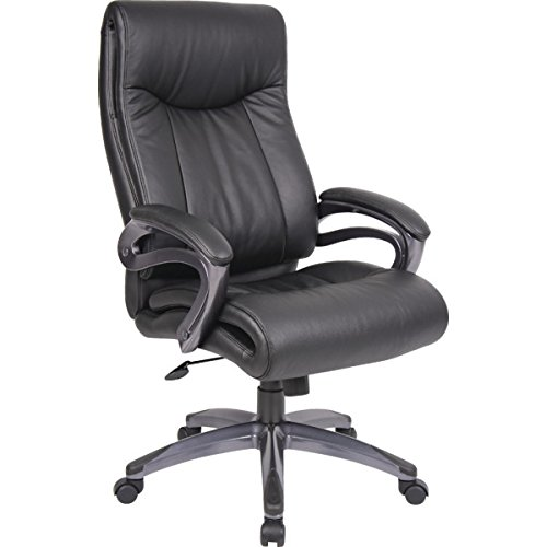 boss-black-leatherplus-executive-chair