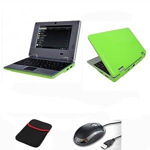 "Netbook Laptop Computer 7"" Zoll 1,5GHz Android 4.2, HDD 4 Gb, 512 RAM, HDMI - Schwarz"