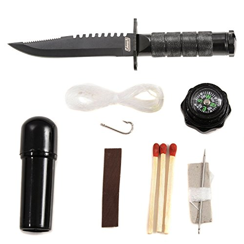 Coleman-Fixed-Blade-Survival-Knife-with-Black-Nylon-Sheath-Survival-Kit-Included-in-the-Handle-85-Inch-Overall