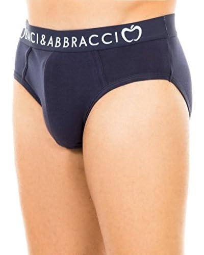 Baci & Abbracci Pack x 2 Slips Gris Claro