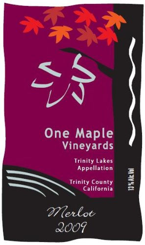 2009 One Maple Winery Merlot 750 Ml