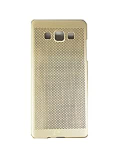 Premium High Quality Back Case Cover for Samsung Galaxy A5 - Gold
