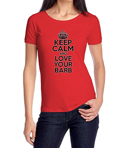 keep-calm-and-love-your-barb-womens-classic-t-shirt-xx-large