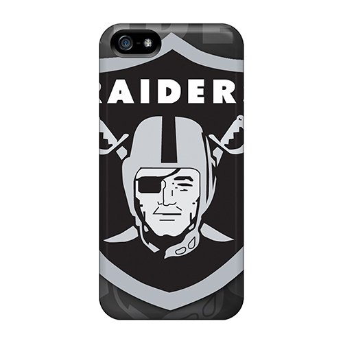 Defender Case For Iphone 5/5S, Oakland Raiders Pattern