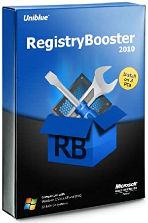 Uniblue - RegistryBooster 2010 (Install on 3 PC's)
