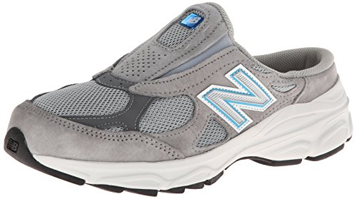 New Balance Women's W990 Slide Shoe,Grey,8.5 B US