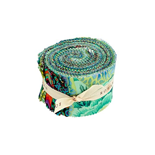 Kaffe Fassett 2.5'' Design Roll Green (Kaffe Jelly Roll compare prices)