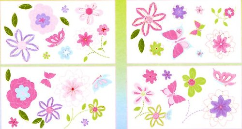 NoJo Spring Meadow Wall Decals